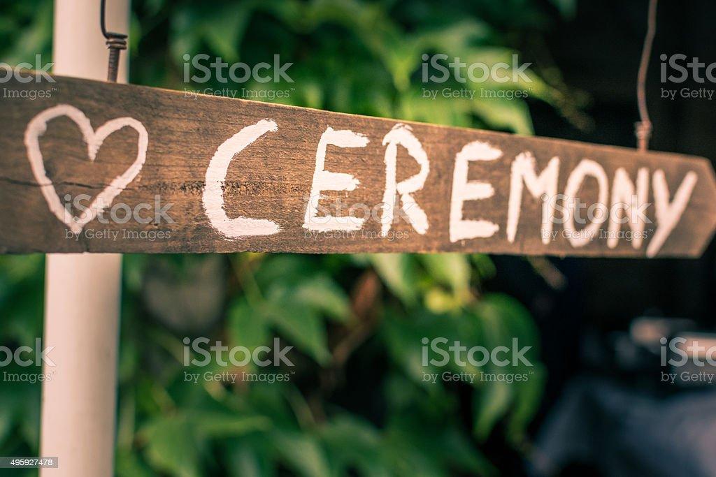 Ceremony stock photo