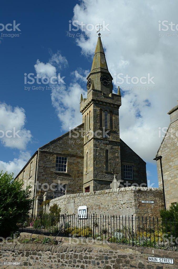 Ceres Church stock photo