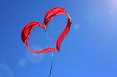 Cerf volant coeur