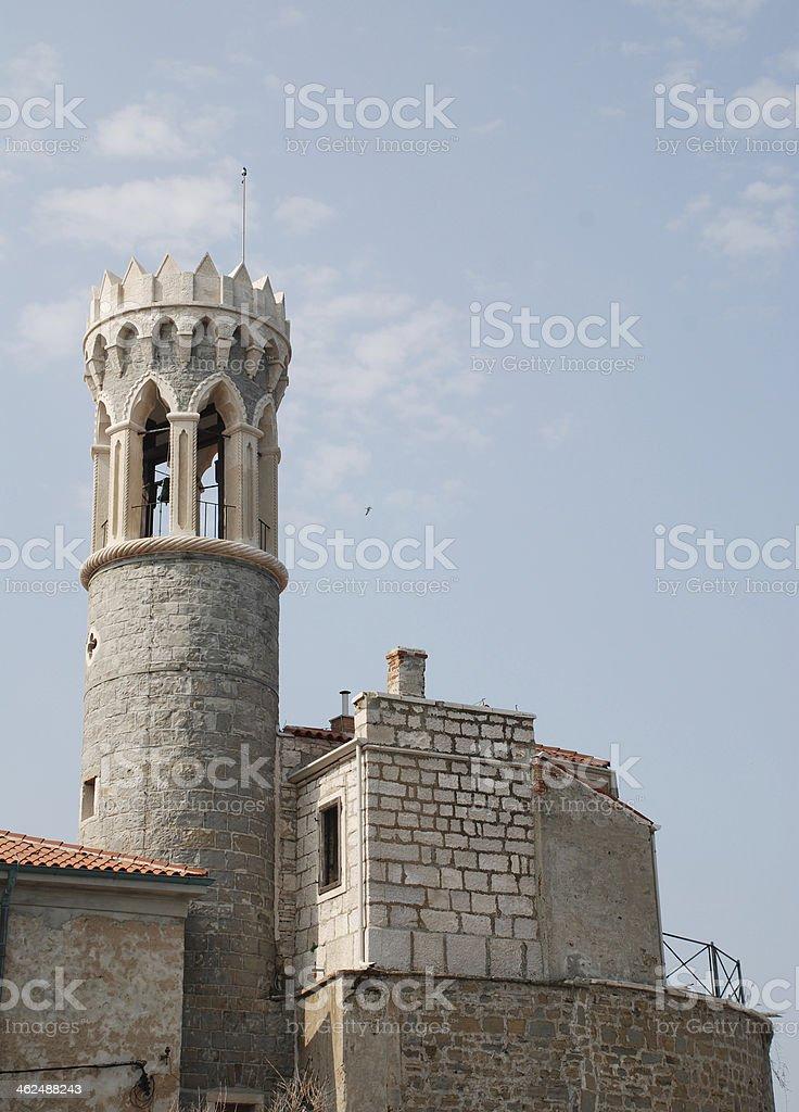 Cerkev Marijev Zdravga stock photo