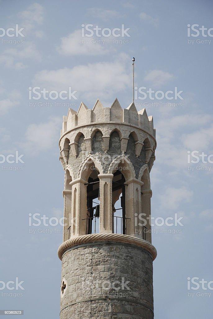 Cerkev Marijev Zdravga, Piran stock photo