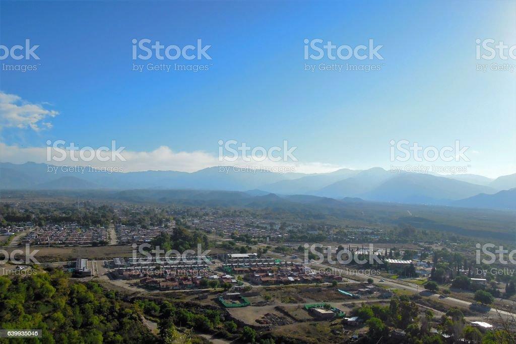 Cerro de la Gloria stock photo