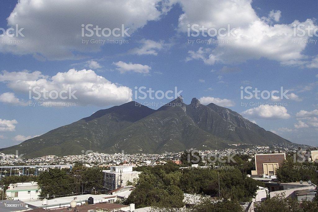 Cerro de la Silla stock photo