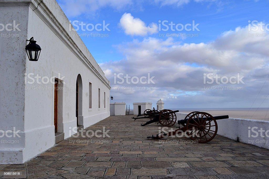 Cerro fortress stock photo