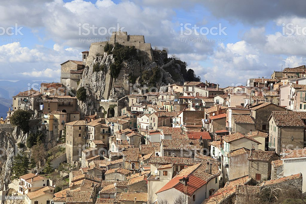 Cervara di Roma, Lazio Italy royalty-free stock photo
