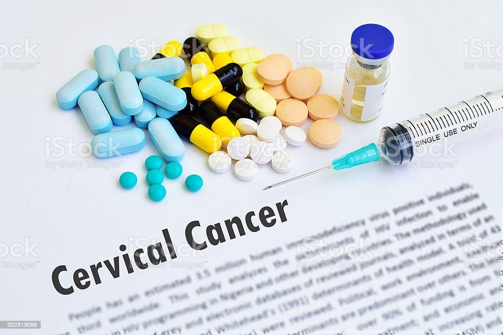 Cervical cancer stock photo