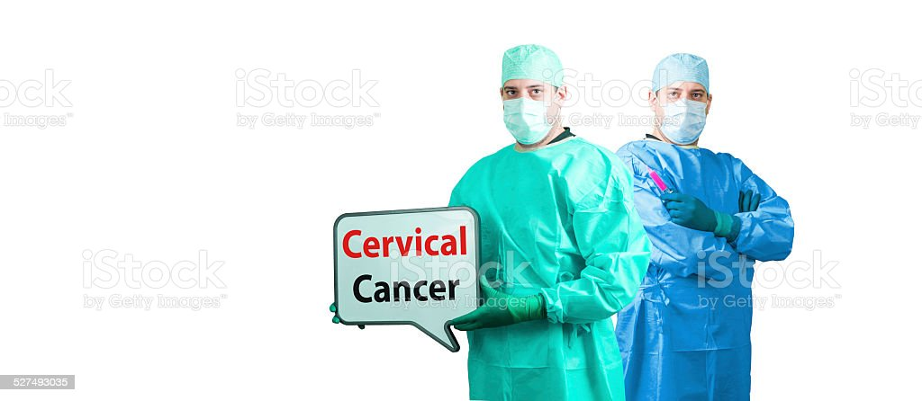 cervical cancer stock photo
