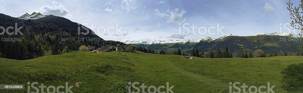Ces Panorama stock photo