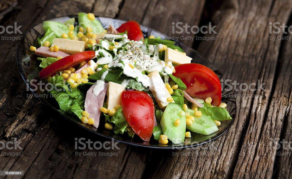 Cesar salad royalty-free stock photo