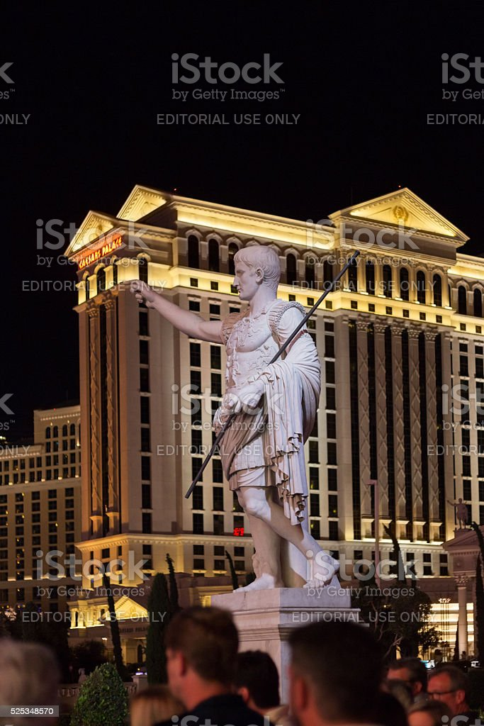 Cesar's Palace Hotel in Las Vegas stock photo