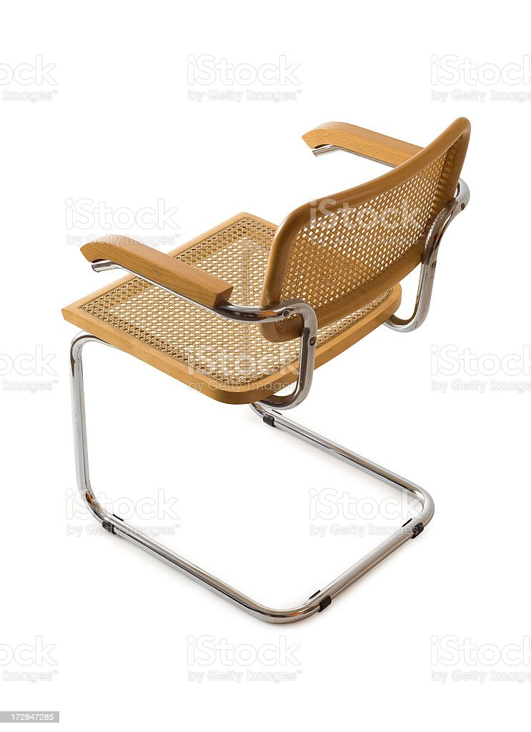 Cesca Chair w/Clippping path stock photo