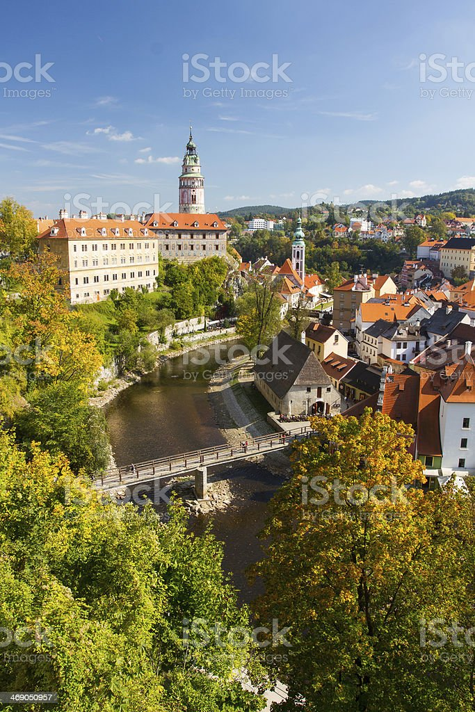 Cesky Krumlov royalty-free stock photo