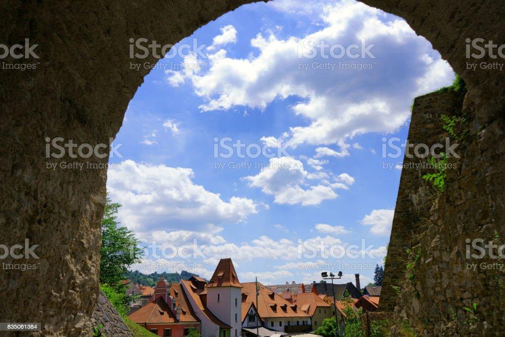 Cesky Krumlov stock photo
