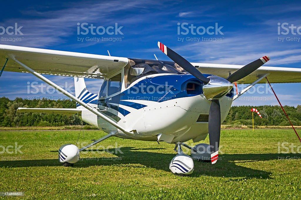 Cessna 182 Skylane stock photo