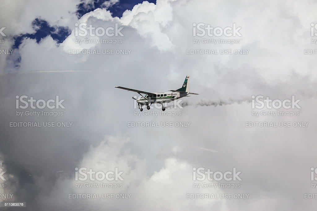 Cessna 208 Caravan of KASET stock photo