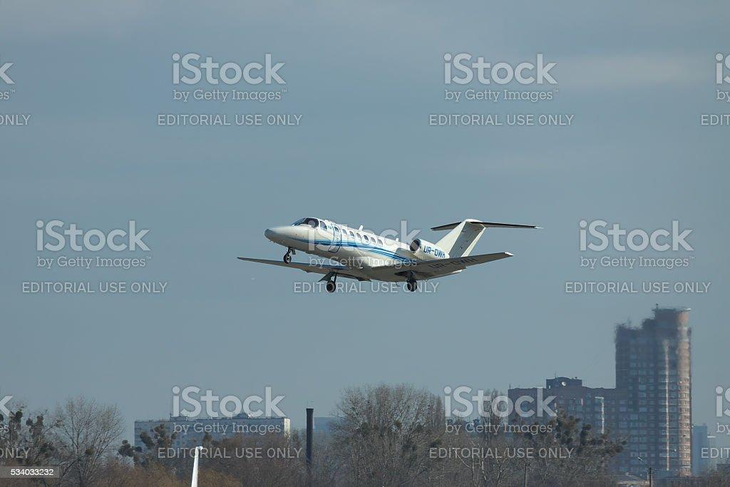 Cessna 525B Citation Jet CJ3 stock photo