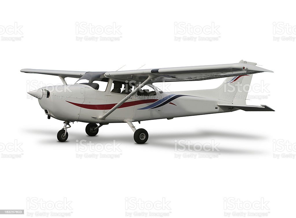 Cessna on the Ground royalty-free stock photo