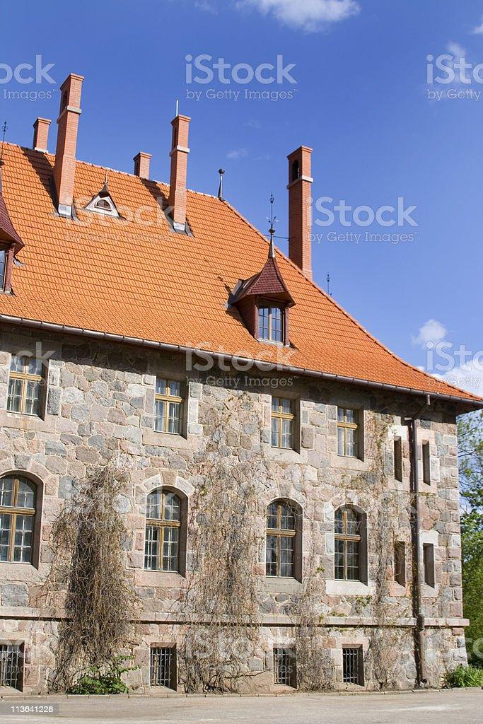 Cesvaine Palace stock photo