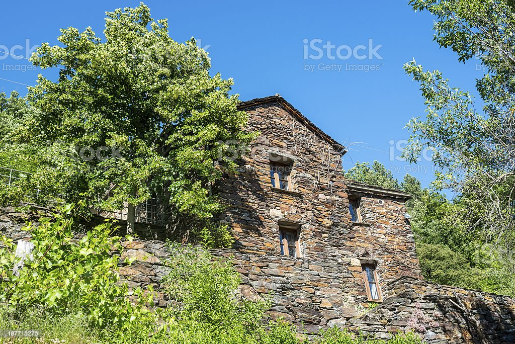 Cevennes: old typical house royalty-free stock photo