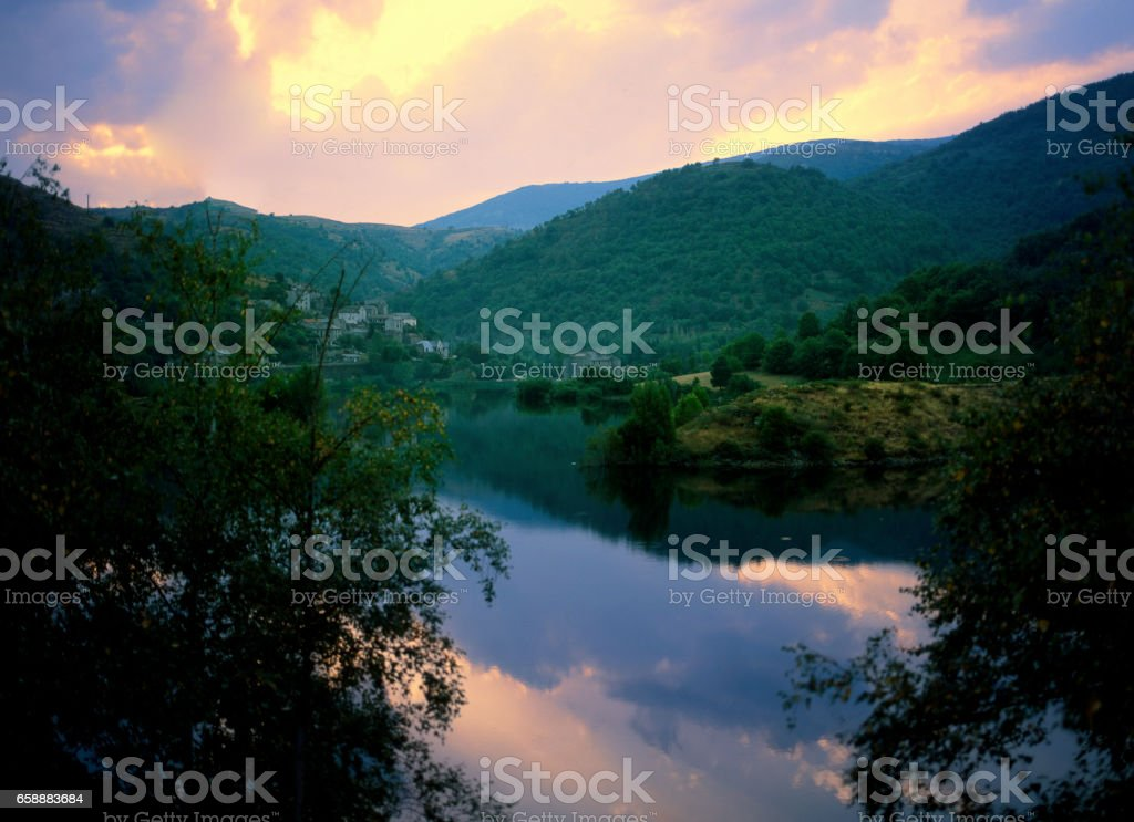 cevennes stock photo