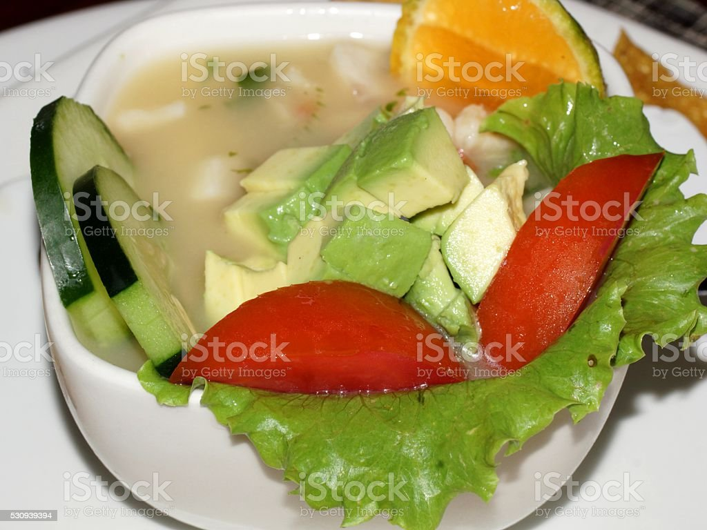 Ceviche stock photo