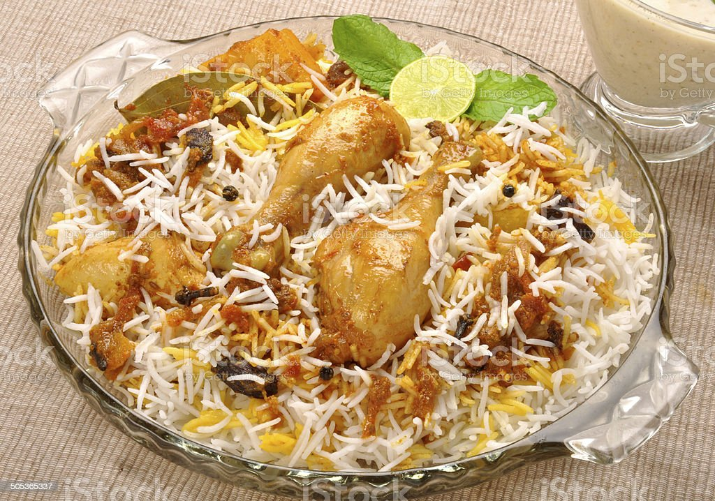 Ch. Biryani stock photo