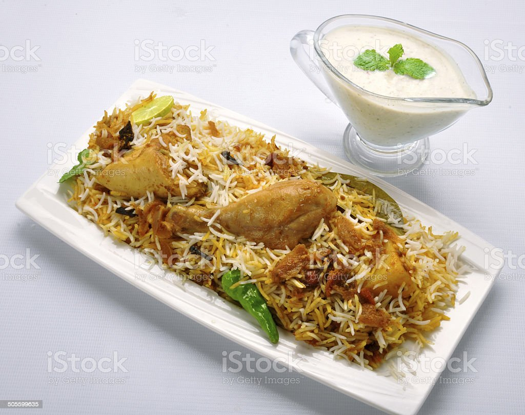 Ch. Biryani-8 stock photo