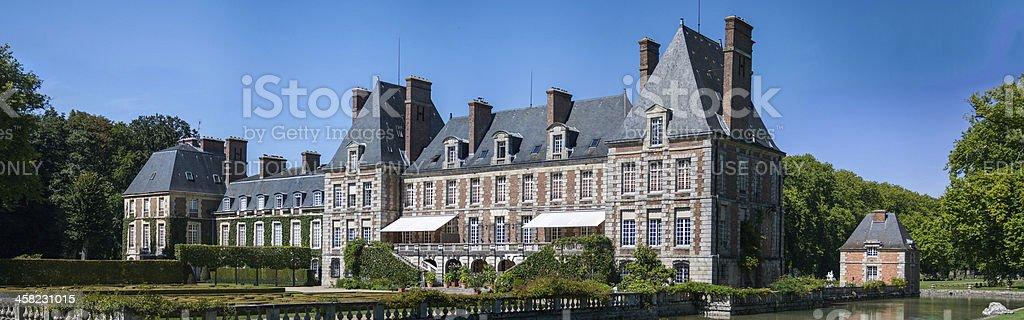 Château de Courances royalty-free stock photo