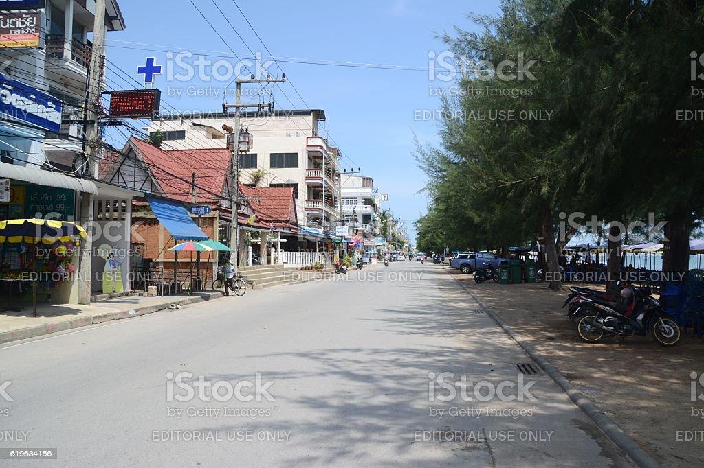 Cha-Am, Thailand stock photo