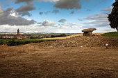 Chabola de la Hechicera dolmen. Rioja. Spain