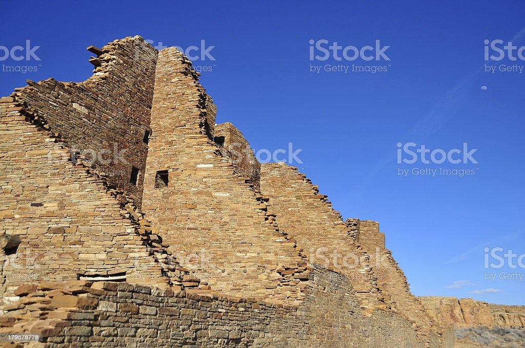Chaco Canyon National Historical Park, New Mexico, USA royalty-free stock photo
