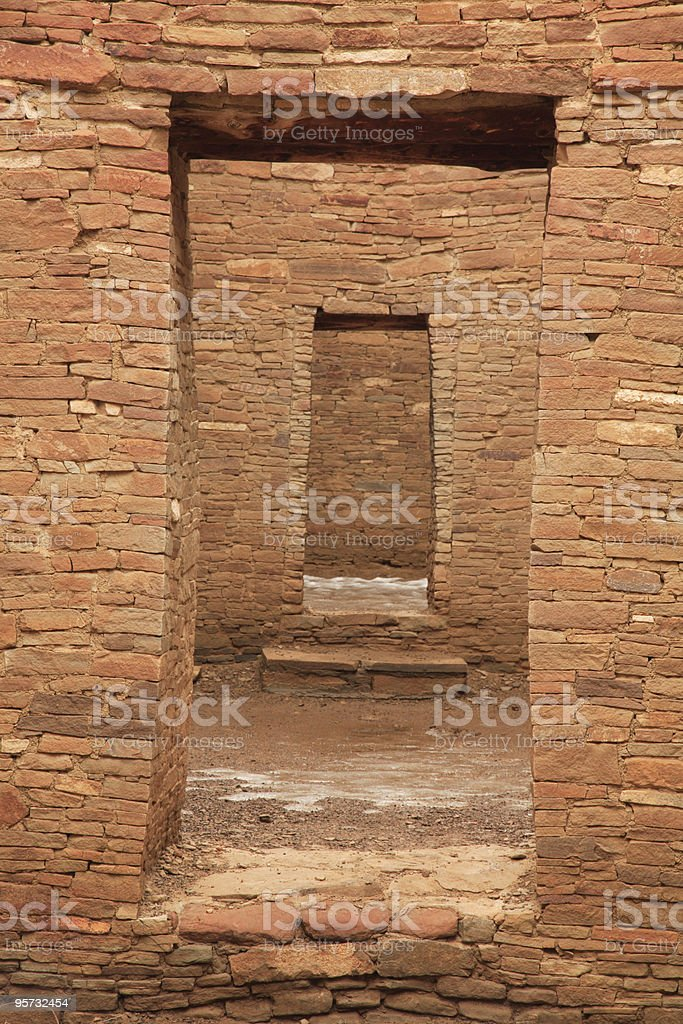 Chaco Culture National Historical Park royalty-free stock photo