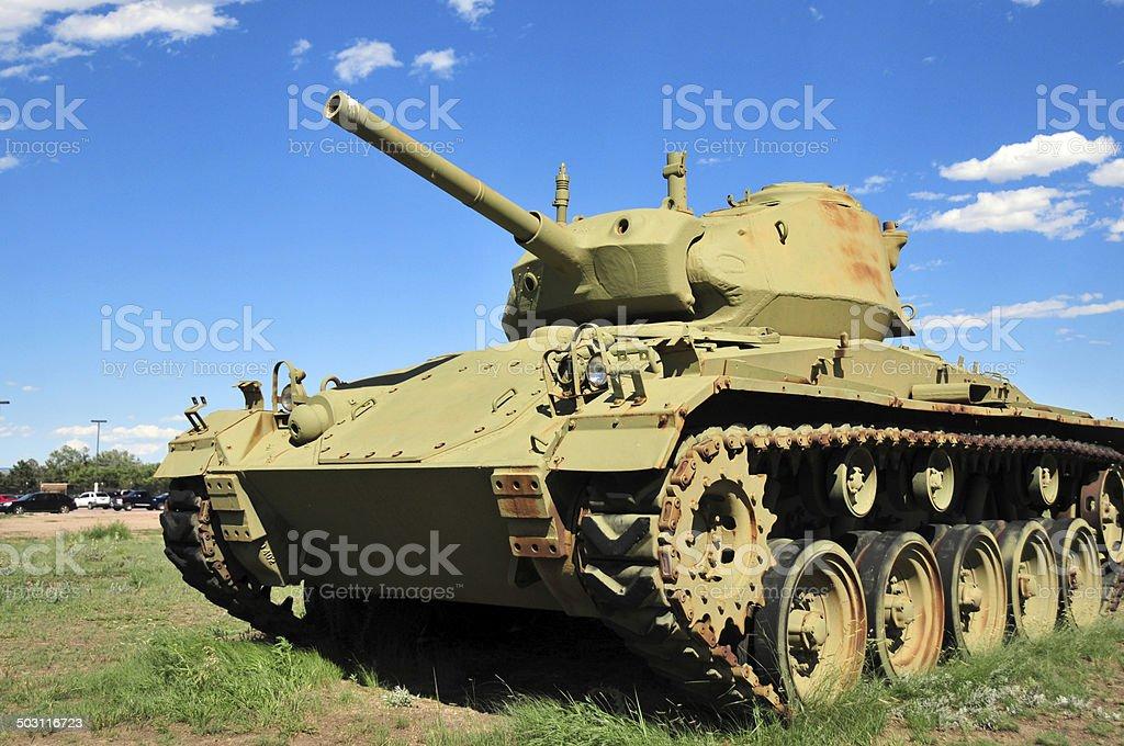 M24 Chaffee tank (WWII) stock photo