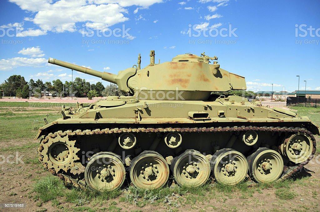 M24 Chaffee tank stock photo