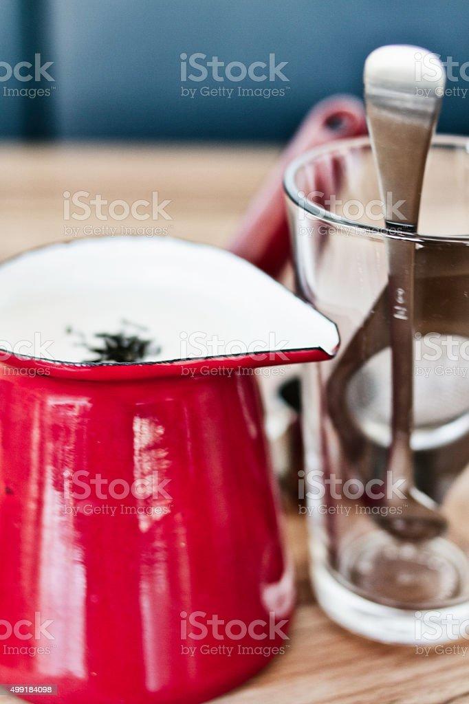 Chai Latte stock photo