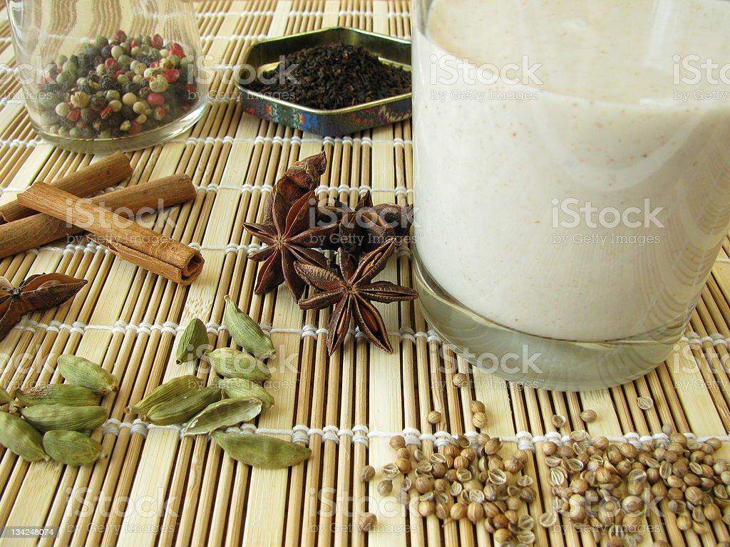 Chai-Lassi royalty-free stock photo