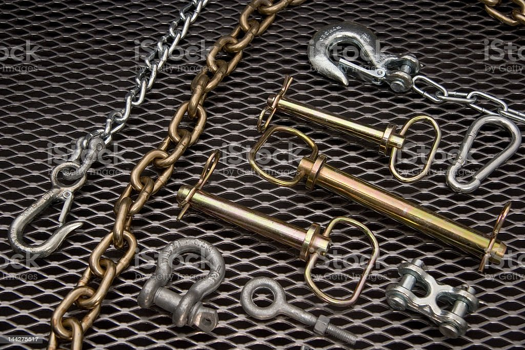 Chain and Accessories stock photo