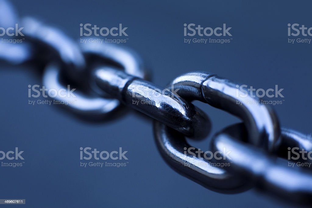 chain close up stock photo