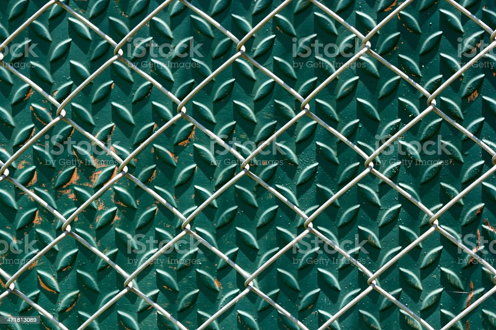 Chain fence royalty-free stock photo
