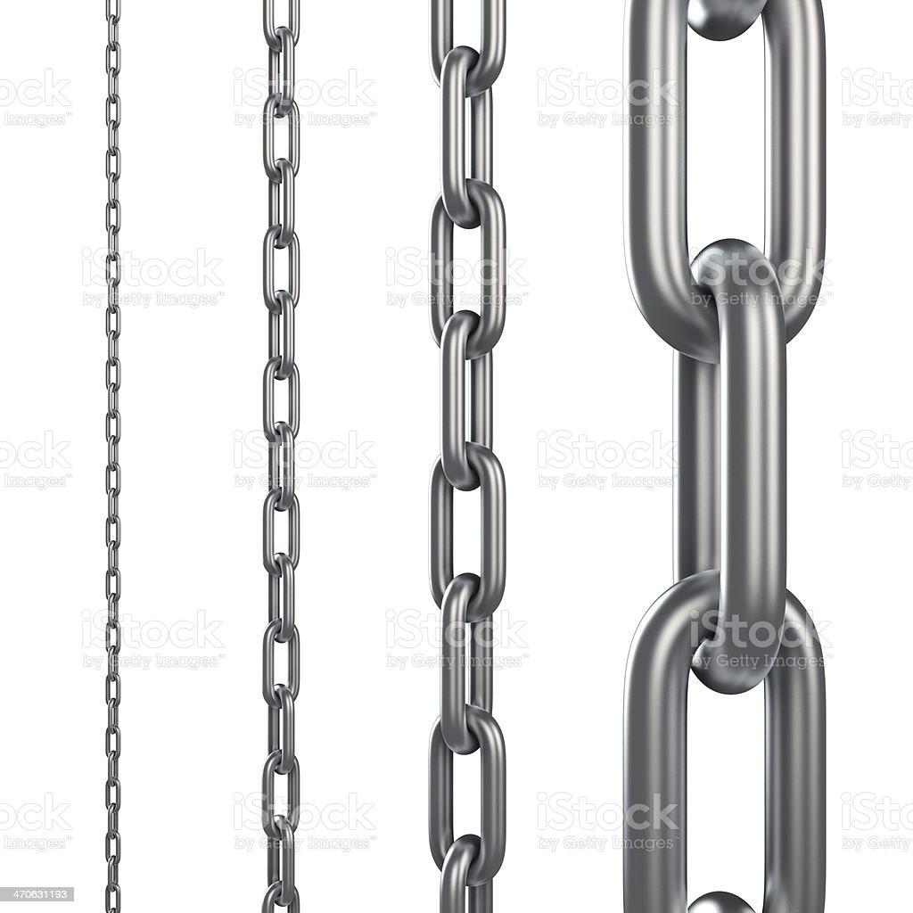 Chain links stock photo