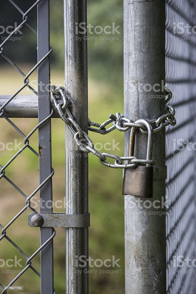 Chain Lock royalty-free stock photo