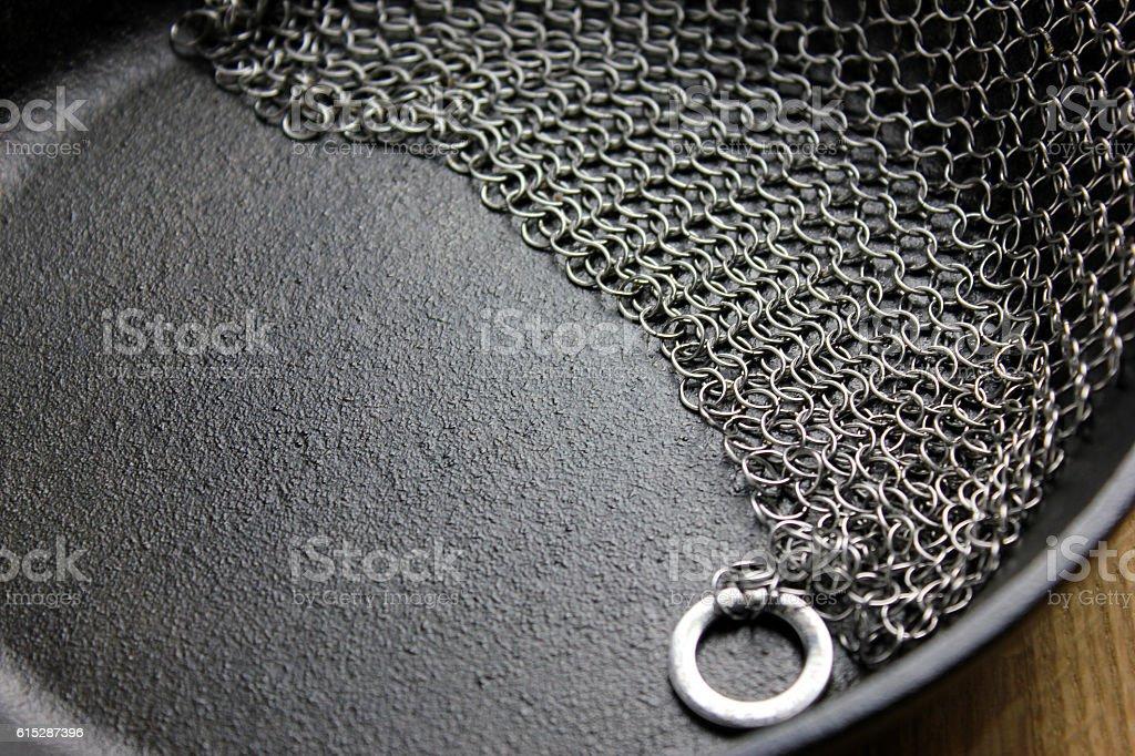 Chain Mail stock photo