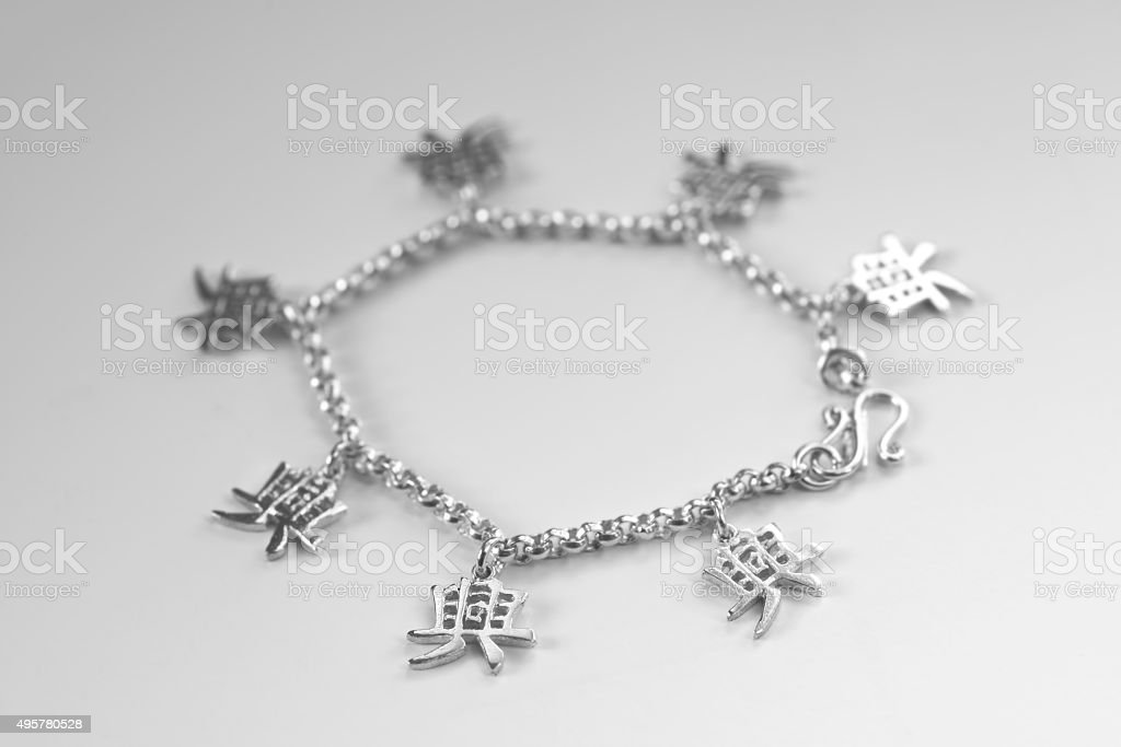 Chain of fortune stock photo