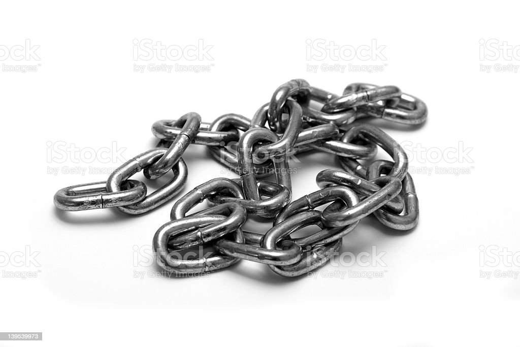 Chain royalty-free stock photo