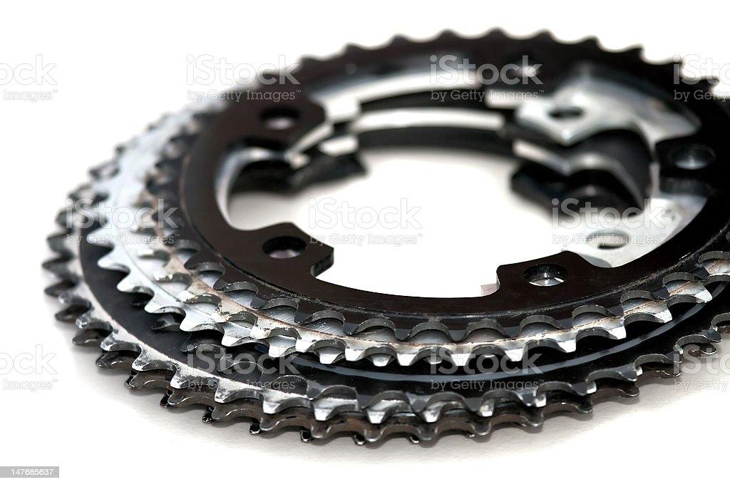 Chain Rings stock photo