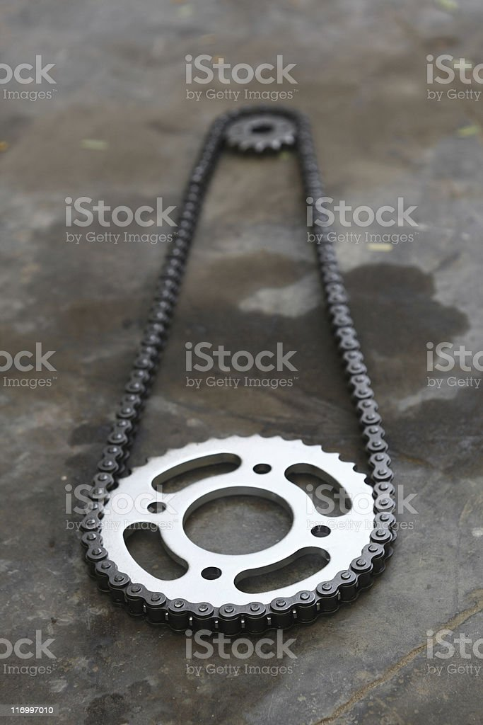 Chain Spocket royalty-free stock photo