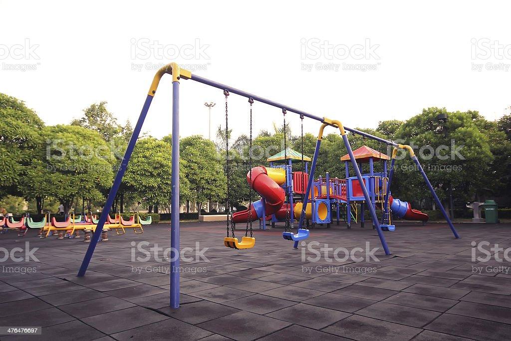 chain swings royalty-free stock photo