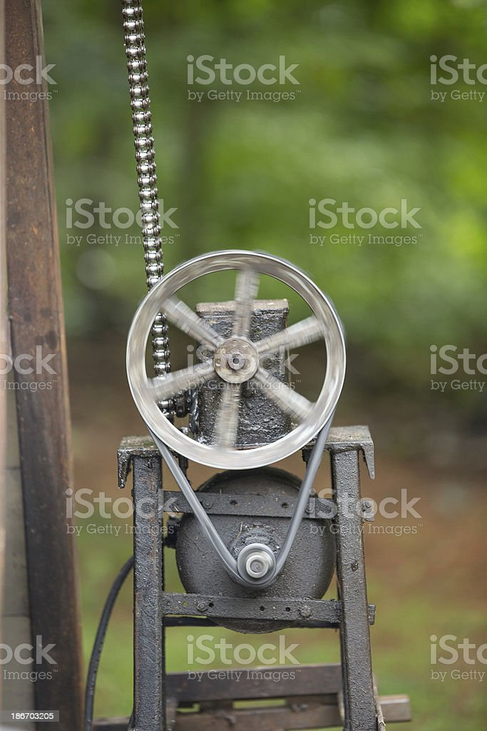 Chain wheel royalty-free stock photo