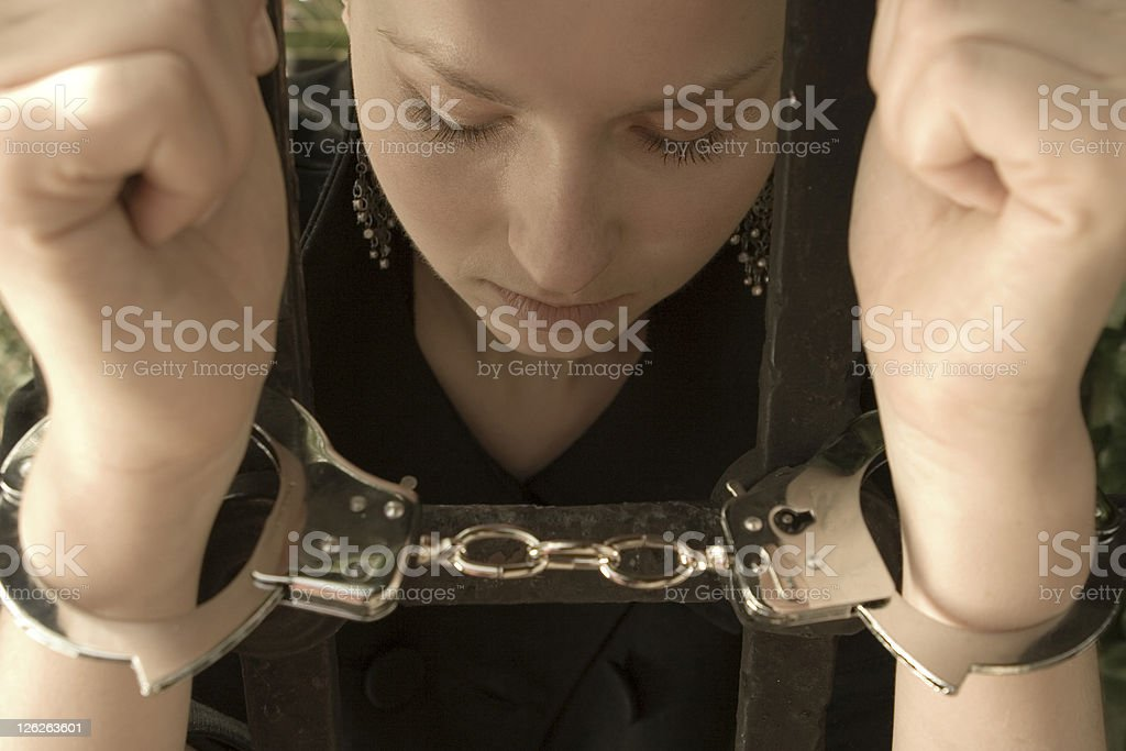 Chained Love royalty-free stock photo