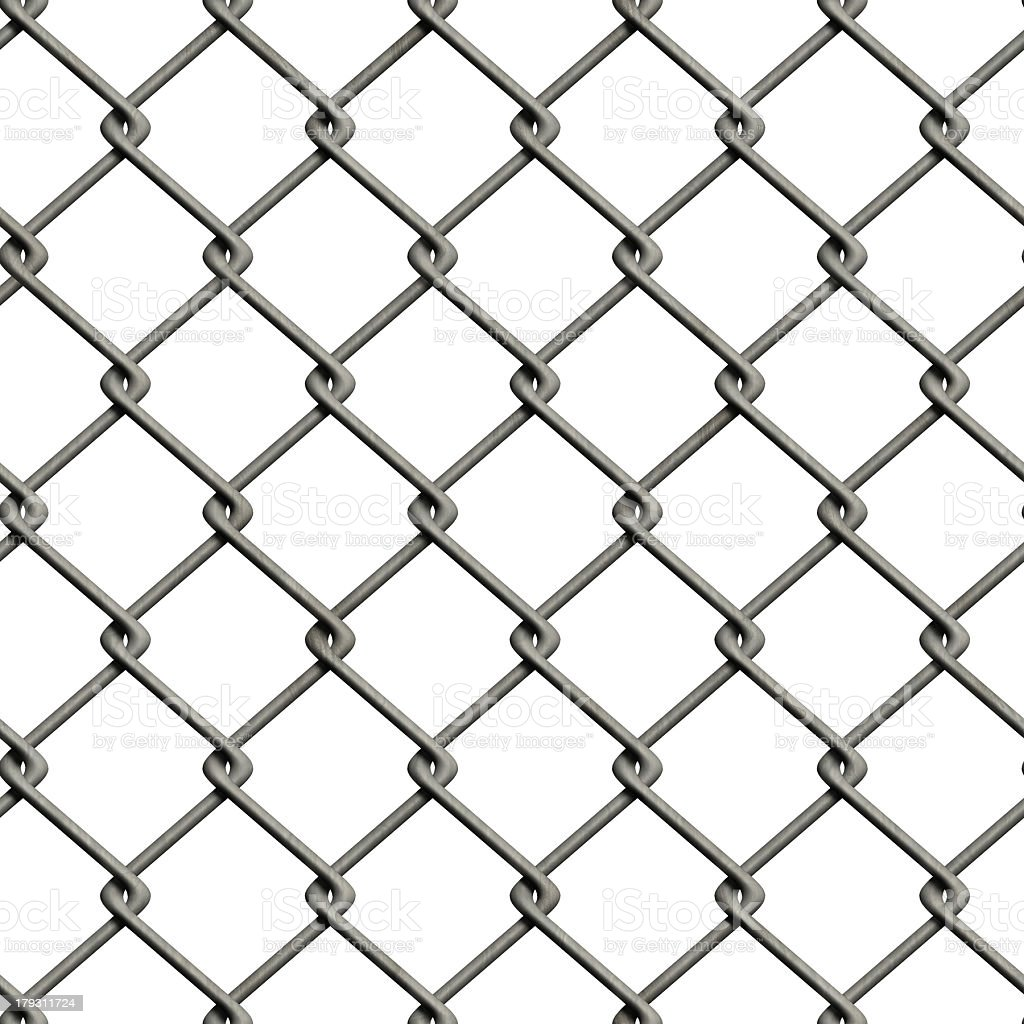Chainlink fence (Seamless texture) royalty-free stock photo